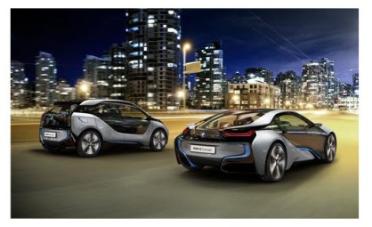 Famile Members BMW All-Electric